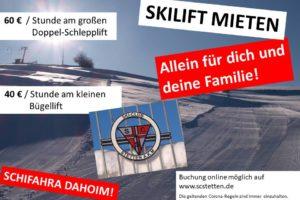 Skilift-Miete SC Stetten a.k.M. 2